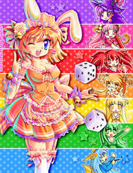 Pixelanime rainbow - Wendy by Crizthal