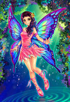 Forest Fairy by Crizthal