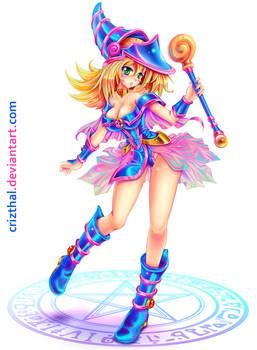 DARK MAGICIAN GIRL-Commission