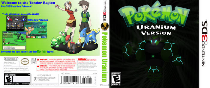 Pokemon Uranium Version 3DS.