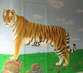 Tiger by Cassie-Berringer