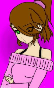 Anime girl (Made with a base)