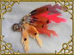 Phoenix Wing Hat Pin