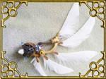 Angel Wing Hat Pin