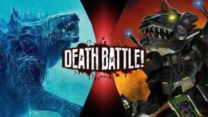Godzilla vs Trypticon (Death battle fan made)