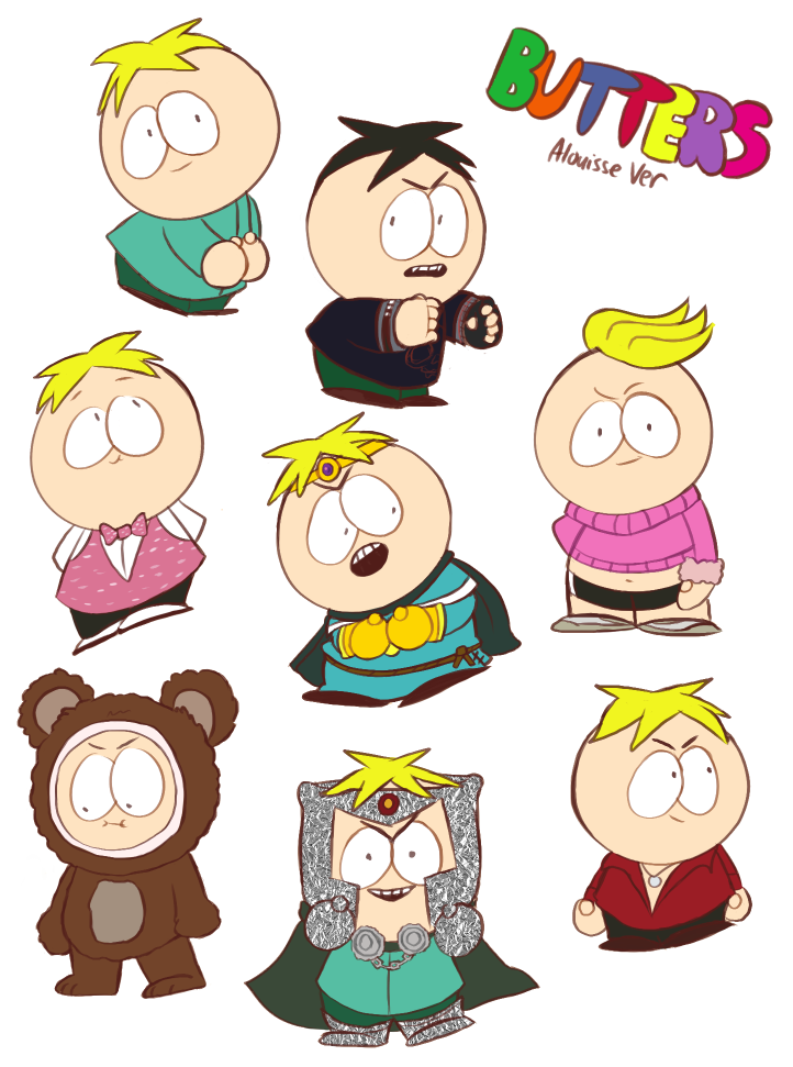 Butters by Alouisse-Ver