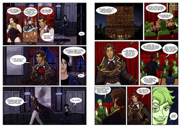 Vicente intro comic pages 1 and 2 by Alouisse-Ver