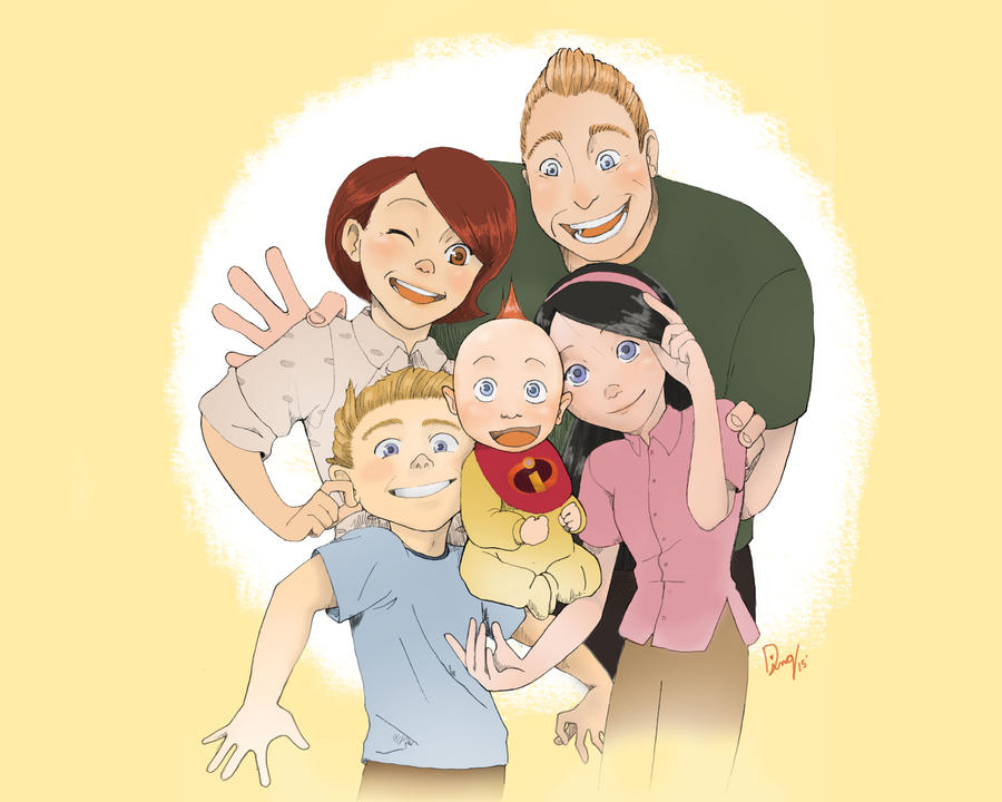 Incredible Family by Havenaims
