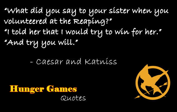 Quotes About Hunger Custom Hunger Games Quotesme 5Zoey13Redbird On Deviantart