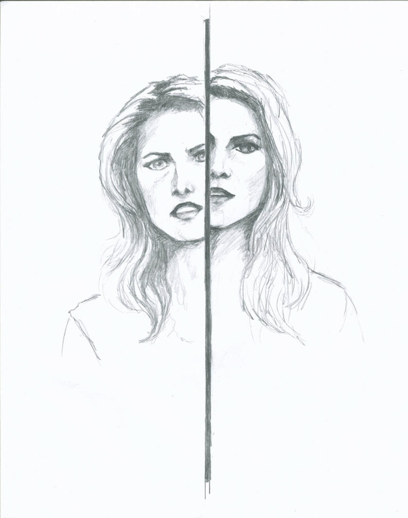 The mirror has two faces by wunderbunny0602 on deviantart for Mirror has two faces