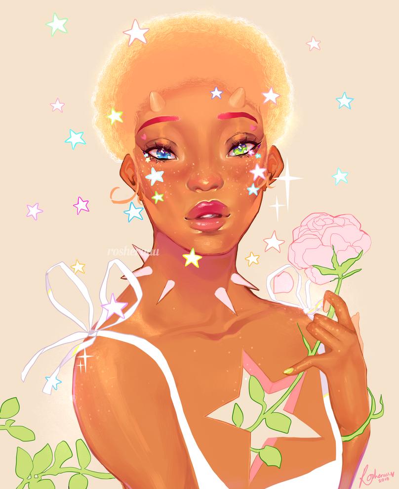 starry by rosheruuu