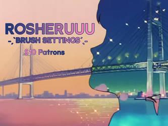 brush settings ! by rosheruuu