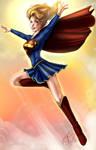 Super Girl Colored