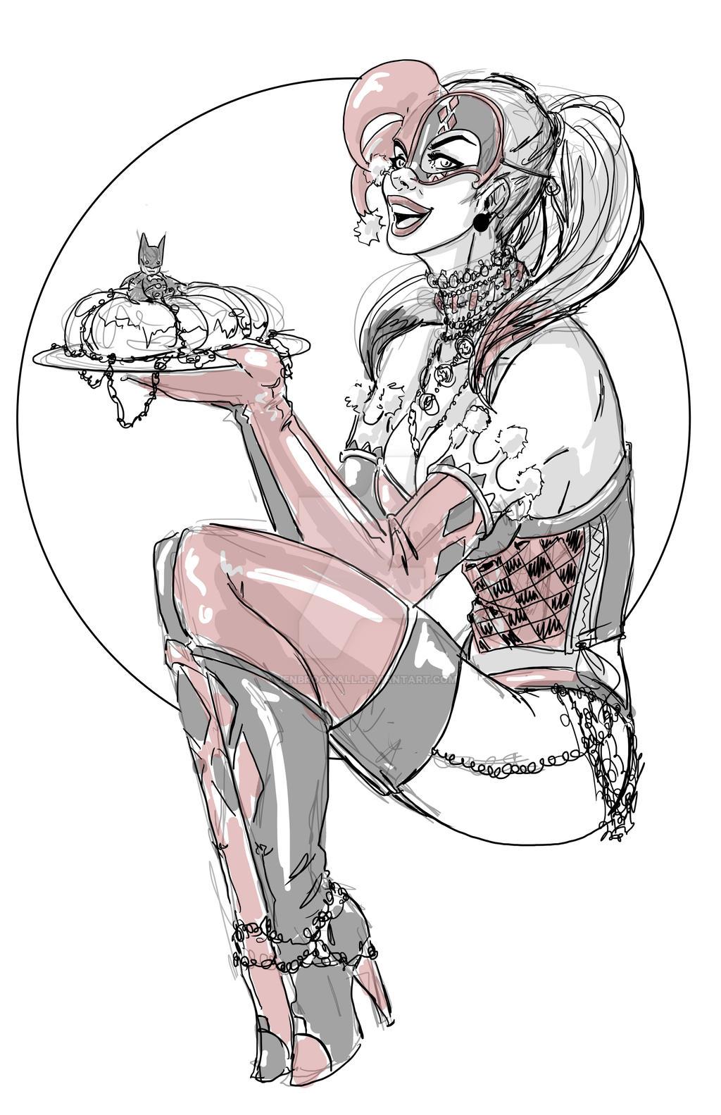 Mardi Harley by JenBroomall