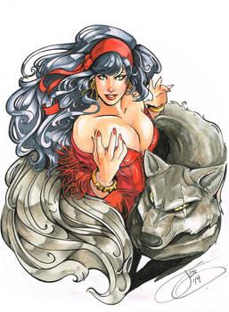 Gypsy Wolf Commission