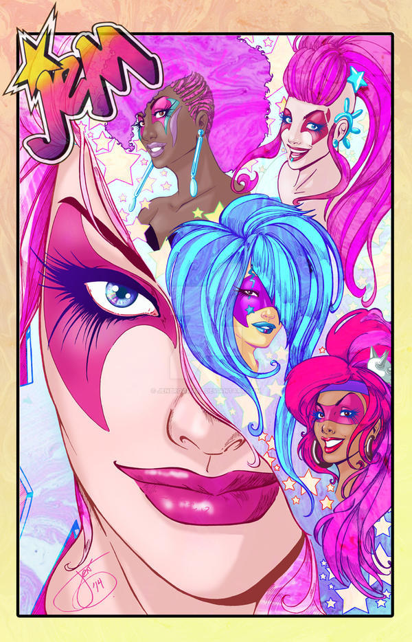 Jem and the Holograms by JenBroomall