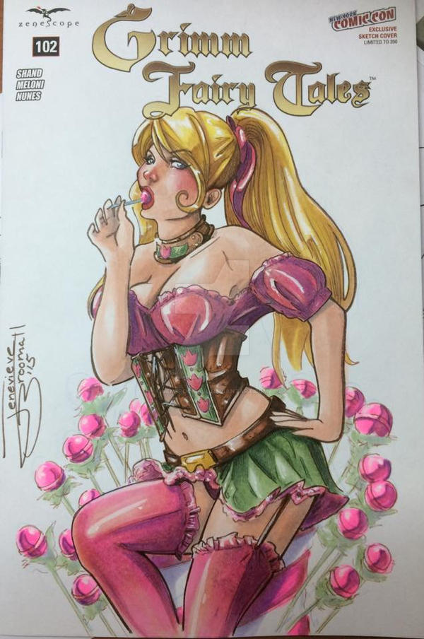 Grimm Fairy Tale Commission by JenBroomall