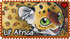 Africa : Young Africa stamp by Zeldienne