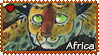 Africa : Adult Africa stamp by Zeldienne