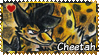 Chakra B.O.T : Cheetah stamp by Zeldienne
