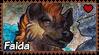 Africa : Faida stamp by Zeldienne