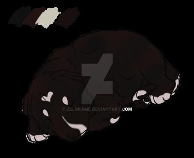Custom Zaporah : Jaro puppy by Zeldienne