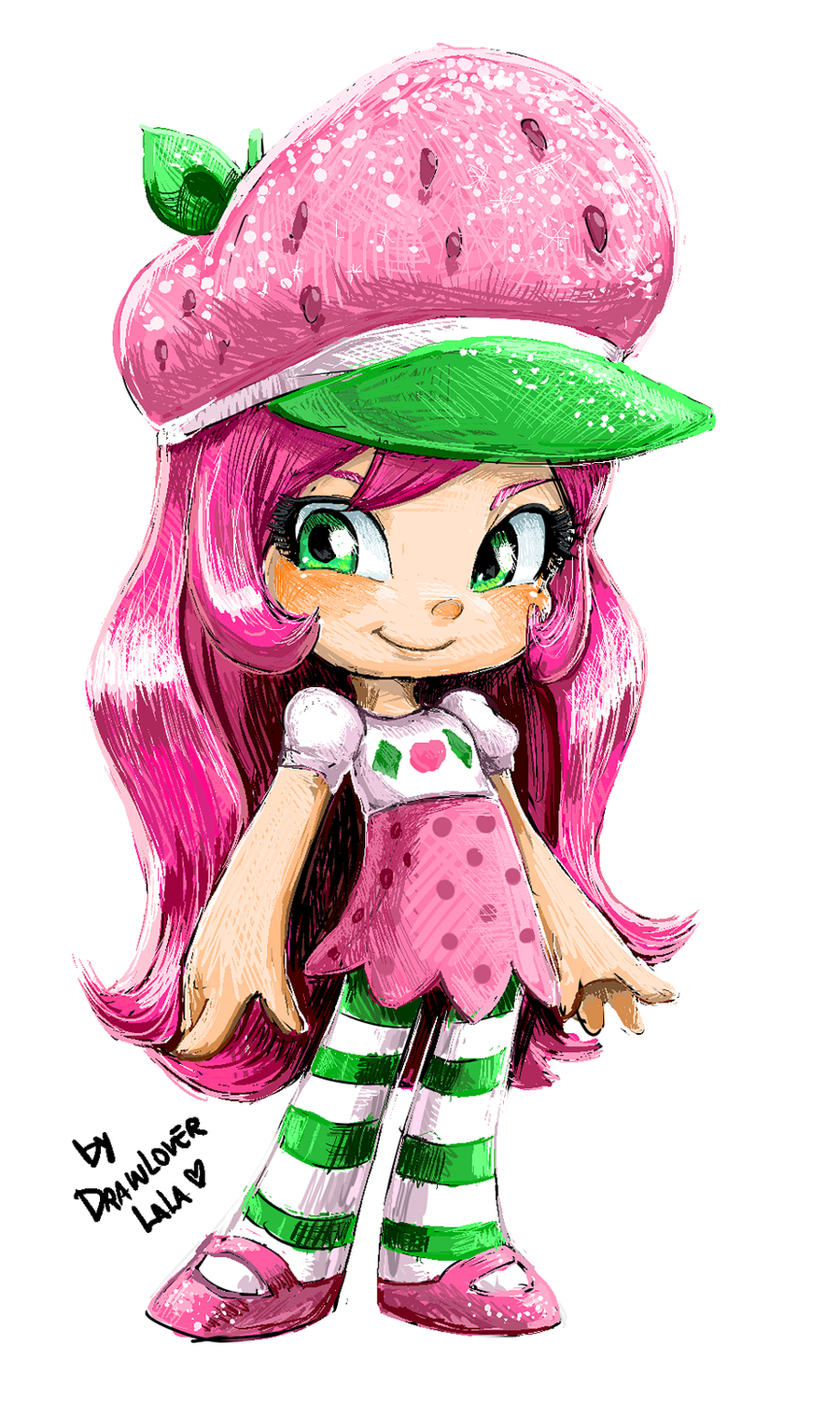 Strawberry Shortcake by Drawloverlala on DeviantArt