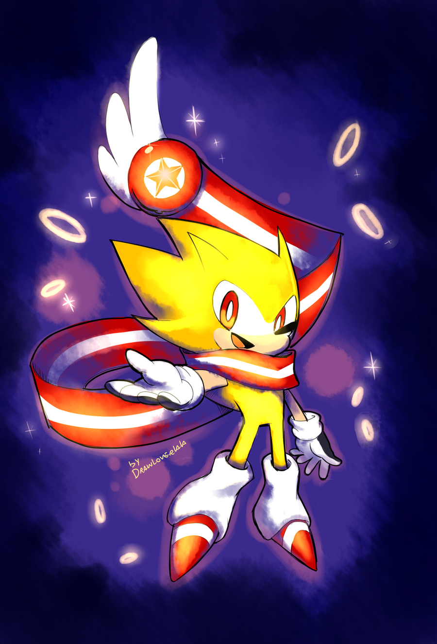 Super Sonic Skyline by Drawloverlala on DeviantArt