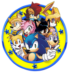 Freedom Fighters Emblem /Archie Sonic Online