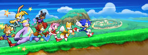 Archie Sonic Runners! by Drawloverlala