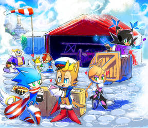 Sonic Skyline: FF Delivery Service