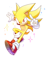 Super Sonic by Drawloverlala