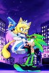 COMM: Princess Raven and Scourge