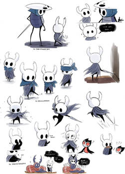 Hollow Knight doodles