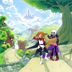 :CE: Toffee and Diamond's Journey