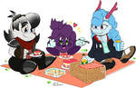 COMM: Picnic with friends