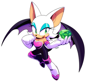 Rouge from Speedpaint.