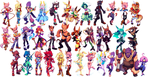:COMM: Thistle Chronicles characters