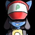Lucario [Pokemon Stadium trainer portrait] by tails224