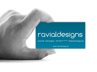 Ravial Designs Business Card