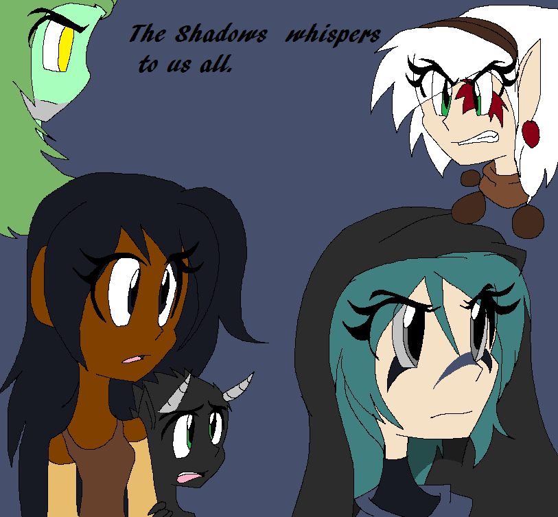 Whisper of the shadows to us all by angelchibivocaloid