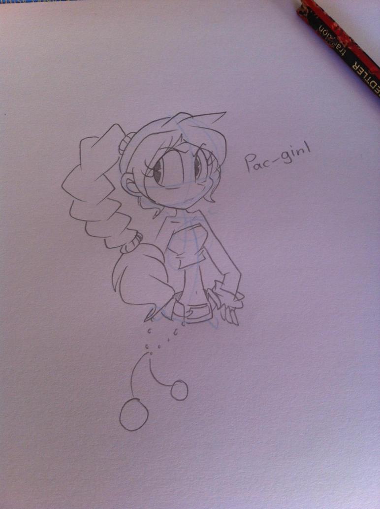 Pac-girl by angelchibivocaloid