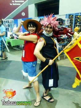 Natsu and Luffy, on an adventure!