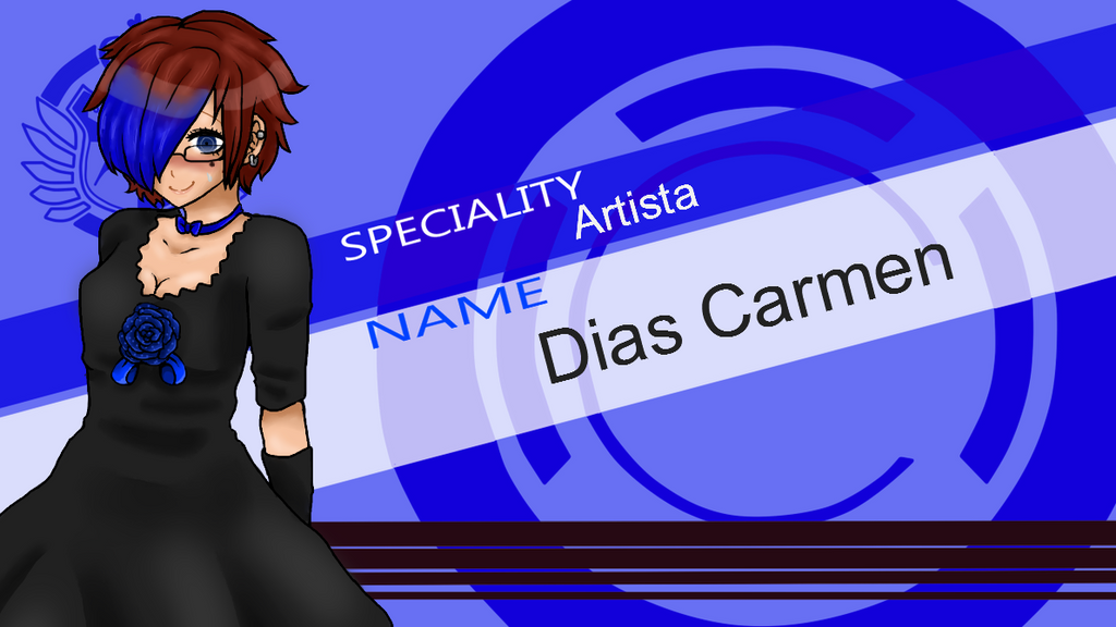 Dias Carmen SHSL Artista by fushigi-no-kuni-oujo
