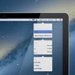 Box Menus Mockup for Mac OSX