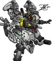 Gundam by Uruiatsu