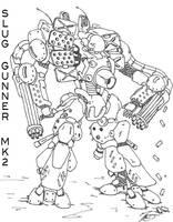 Mecha Slug MK2 by Uruiatsu