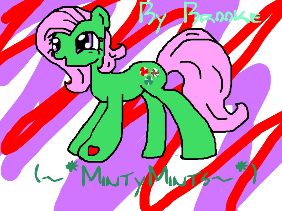 My little pony MINTY :D by Kittiekatlover3
