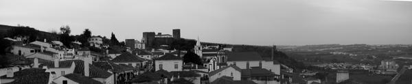 Obidos - Panoramic by nenufar-negro