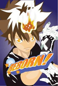 Tsuna Awakens Katekyo Hitman Reborn By Lunaticxdawn On Deviantart